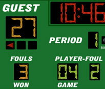 Manual or Electronic Score Boards