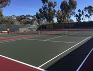 Torrey Pines High School Tennis Courts Restoration Project - After Photo