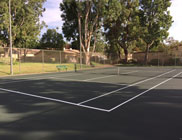 Paseo Del Sol Basketball Courts Resurfacing Project - After Photo