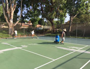 Paseo Del Sol Basketball Courts Resurfacing Project - Before Photo